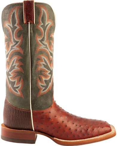 Justin Men S Full Quill Ostrich Boots Boot Barn