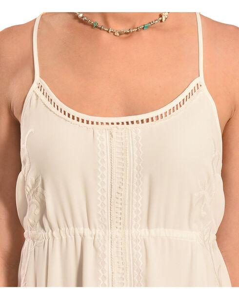 Miss Me Women's White Cross-Back Dress, Off White, hi-res