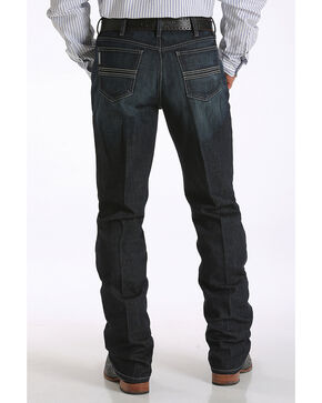 Cinch Men's Indigo Silver Label Performance Jeans - Straight Leg , Indigo, hi-res
