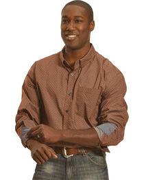 Cody James® Men's Diamond Long Sleeve Shirt , , hi-res