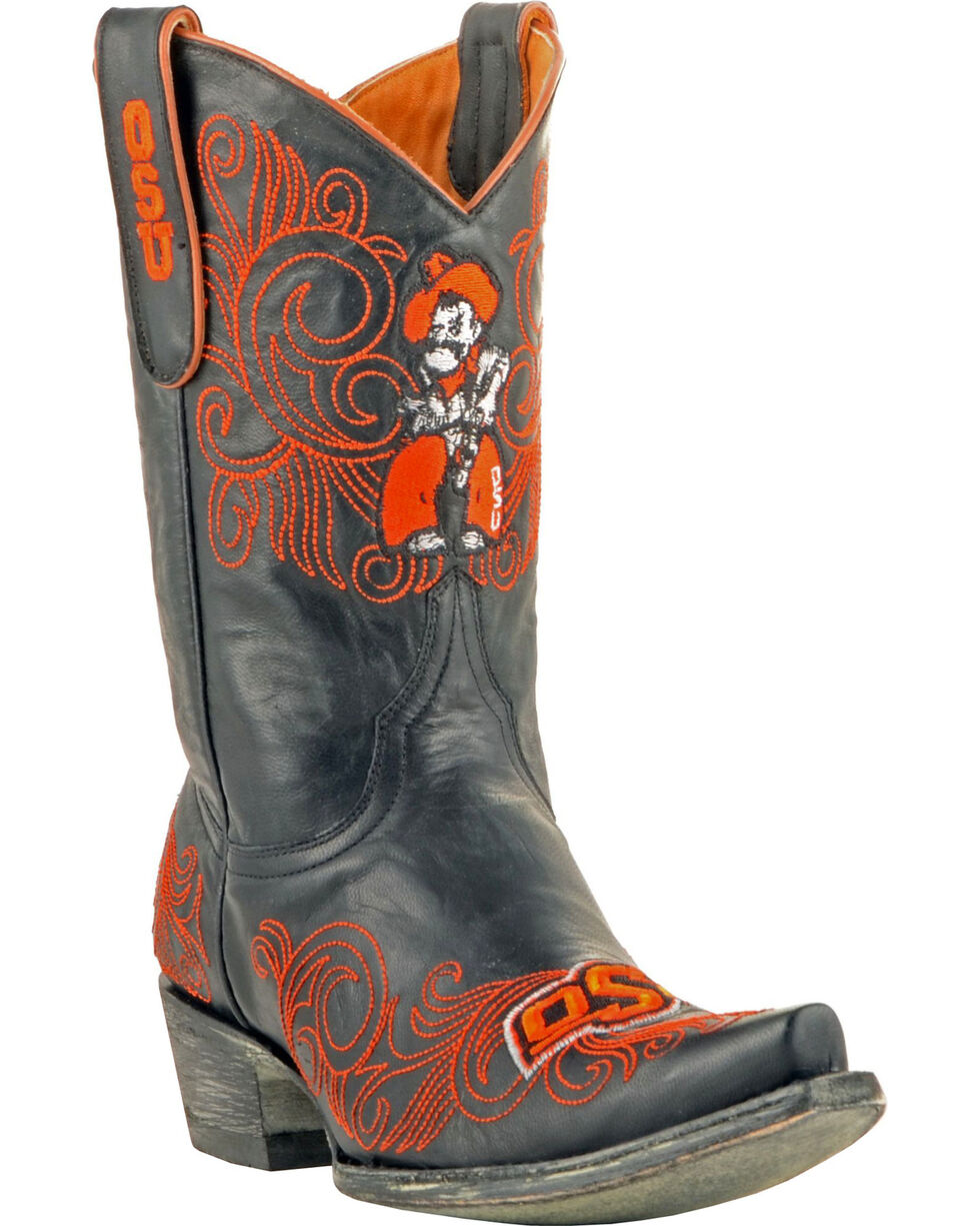 Gameday Oklahoma State University Cowgirl Boots - Snip Toe, , hi-res