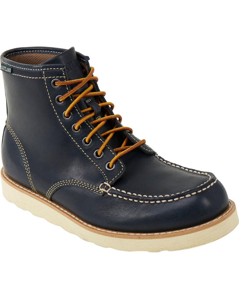 Eastland Men's Navy Lumber Up Boot , , hi-res