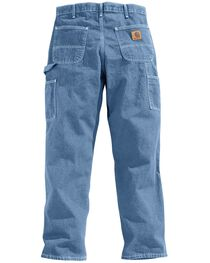 Carhartt Washed Denim Original Fit Work Dungaree Jeans, , hi-res