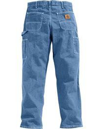 Carhartt Men's Signature Denim Dungaree Work Pants, , hi-res
