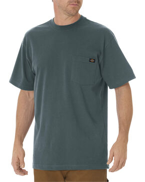 Dickies Men's Short Sleeve Heavyweight T-Shirt - Big & Tall, Green, hi-res
