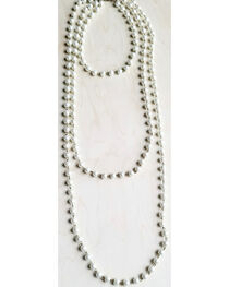 Jewelry Junkie Women's Multi-Strand Pearl Necklace, , hi-res