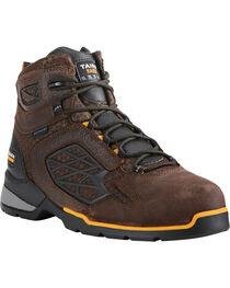 """Ariat Men's Rebar Flex 6"""" H2O Brown Work Boots - Composite Toe, , hi-res"""
