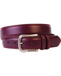 Browning Men's Embroidered Leather Belt, , hi-res