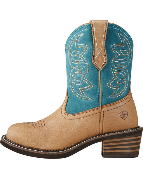 Ariat Women's Charlotte Western Boots, Tan, hi-res