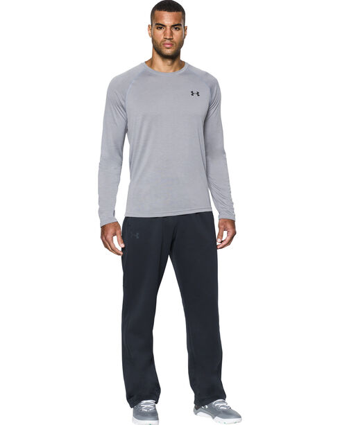 Under Armour Men's Black Storm Armour® Fleece Pants, Black, hi-res