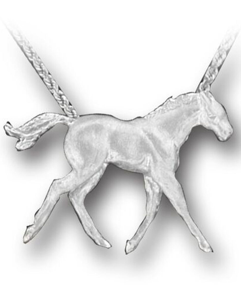 Kelly Herd Women's Sterling Silver Colt Pendant Necklace , Silver, hi-res