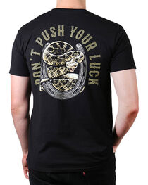 Cody James® Men's Don't Push Your Luck T-Shirt, , hi-res
