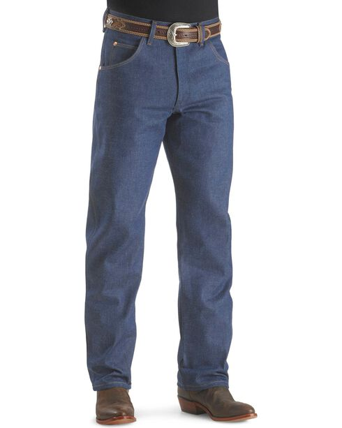 "Wrangler Jeans - 31MWZ Relaxed Fit Rigid - 38"" Tall Inseam, Indigo, hi-res"