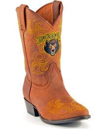 Gameday Boots Girls' Baylor University Western Boots - Medium Toe, , hi-res