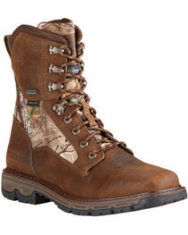 Ariat Men's Insulated Conquest Waterproof Hunting Boots, , hi-res