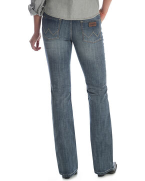 Wrangler Women's Medium Wash Retro Sadie Jeans, Indigo, hi-res