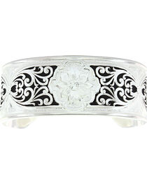 Montana Silversmiths Women's Western Filigree Wide Cuff, , hi-res