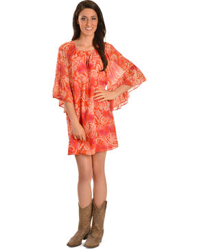 Cowgirl Justice Women's Blythe Paisley Dress, Print, hi-res