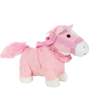 Cuddle Barn Kid's Dolly Trot and Sing Pony, Pink, hi-res