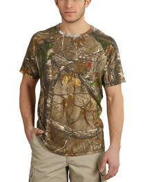 Carhartt Force Delmont Camo Short Sleeve Shirt, , hi-res