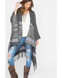Shyanne Women's Palmona Blanket Scarf, , hi-res
