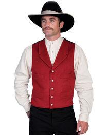 Wahmaker by Scully 4-Pocket Wool Vest, , hi-res