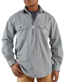 Carhartt Men's Long Sleeve Hickory Stripe Shirt, , hi-res