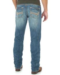Rock 47 by Wrangler Men's Slim Fit Straight Leg Jeans, Blue, hi-res