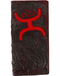 Hooey Men's Signature Tooled Bi-Fold Wallet, , hi-res