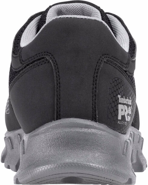 Timberland Pro Men's Powertrain ESD Alloy Safety Toe Shoes, Black, hi-res