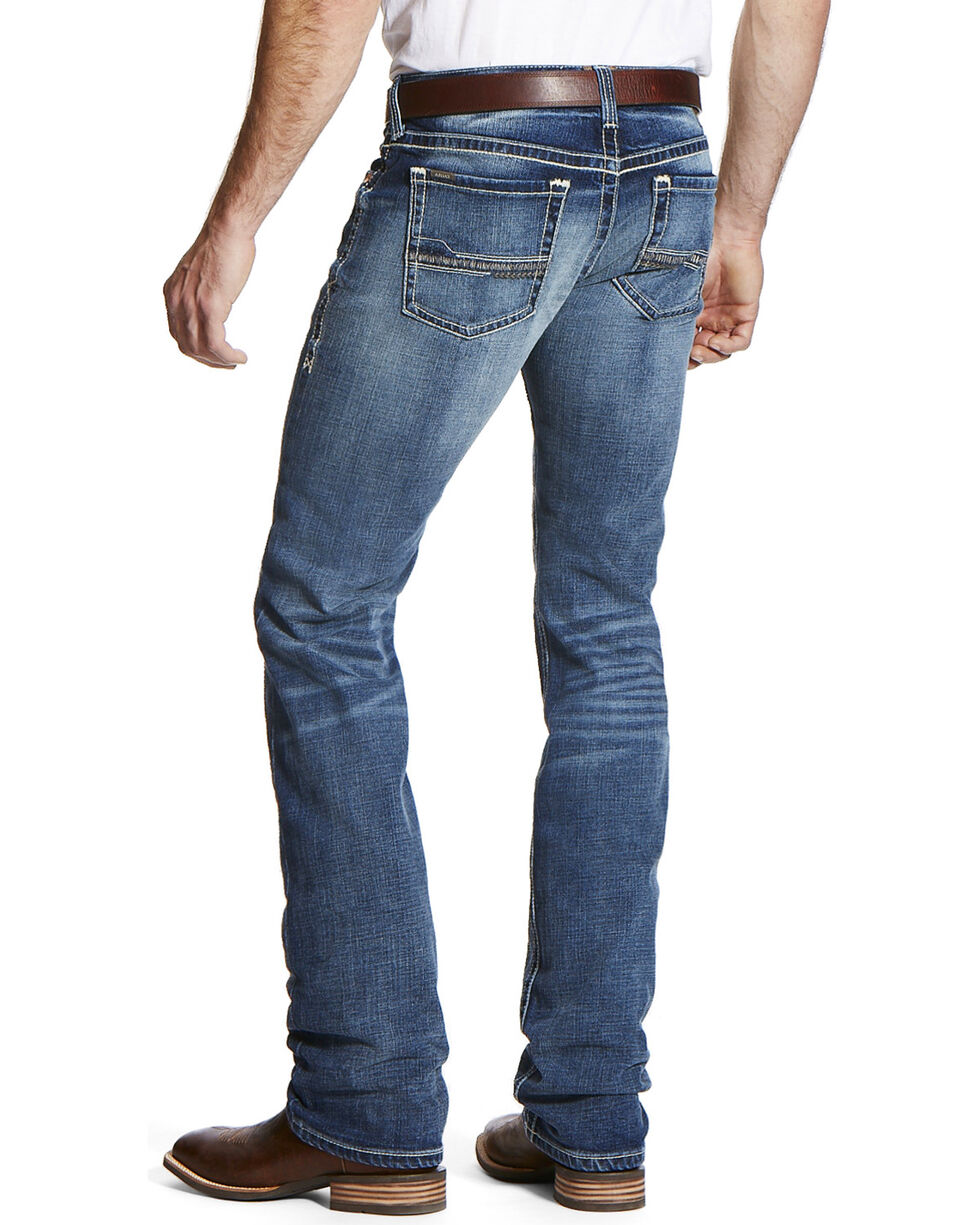 Ariat Men's Blue M7 Dawson Durango Jeans- Straight Leg , , hi-res