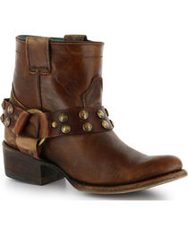 Corral Women's Ankle Harness Fashion Boots, , hi-res