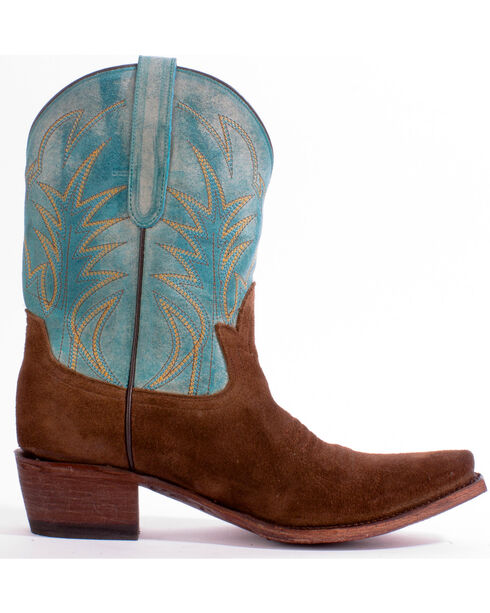Junk Gypsy by Lane Women's Dirt Road Dreamer Western Boots, Turquoise, hi-res