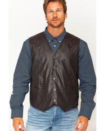 Cody James Men's Brown Deadwood Vest, , hi-res