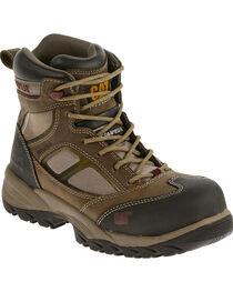 """CAT Women's Shaman 6"""" Waterproof Composite Toe Work Boots, , hi-res"""