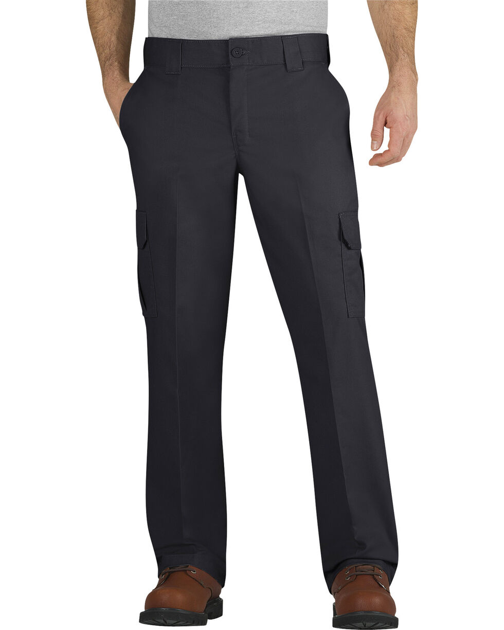Dickies Flex Regular Fit Straight Leg Cargo Pants, Black, hi-res