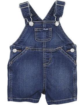 Wrangler Toddler Boys' Indigo Shorts Overalls , Indigo, hi-res
