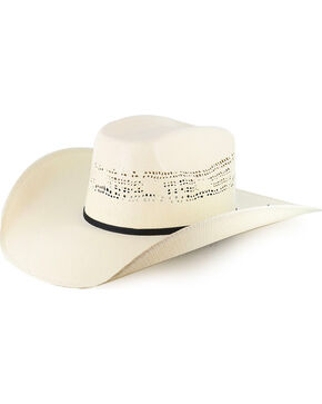 Cody James® Boys' Straw Western Hat, Natural, hi-res