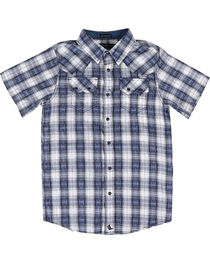 Cody James® Boys' Rattler Short Sleeve Shirt, , hi-res