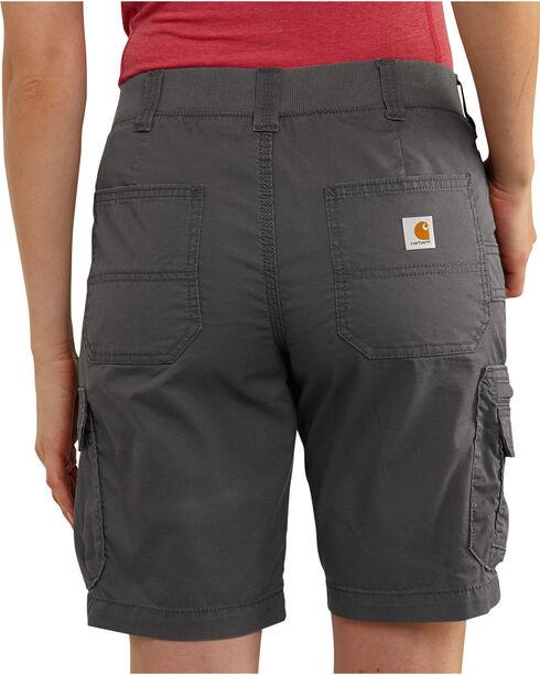 Carhartt Women's Force RuggedFlex Lakota Shorts, Dark Grey, hi-res