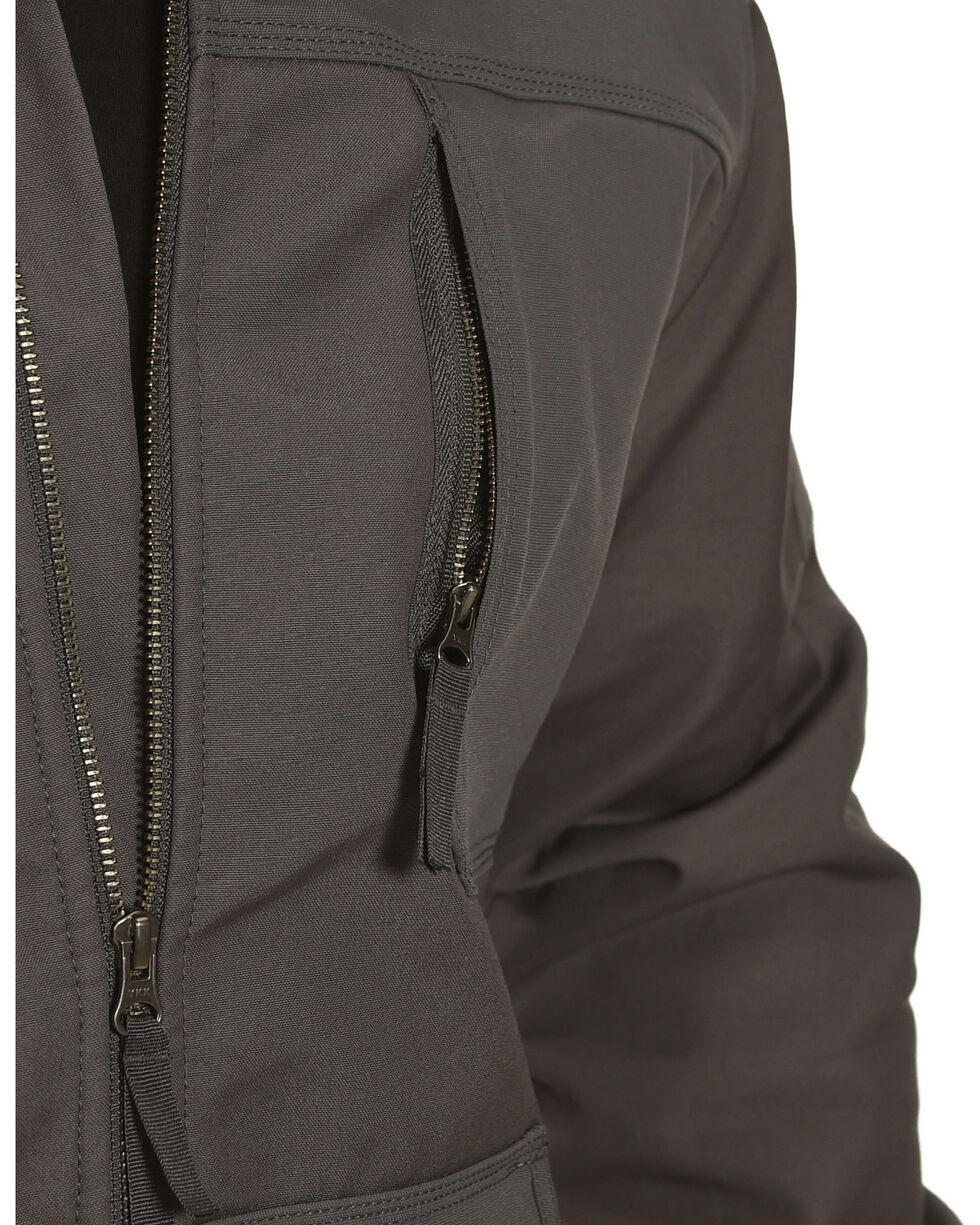 American Worker Men's Brace Canvas Jacket, Charcoal, hi-res