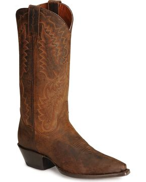 Dan Post Women's Santa Rosa Snip Toe Western Boots, Bay Brown, hi-res