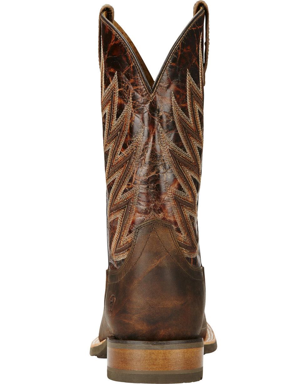 Ariat Challenger Branding Iron Brown Western Boots, Brown, hi-res
