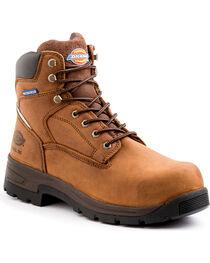 Dickies Men's Brown Stryker Work Boots - Steel Toe , , hi-res