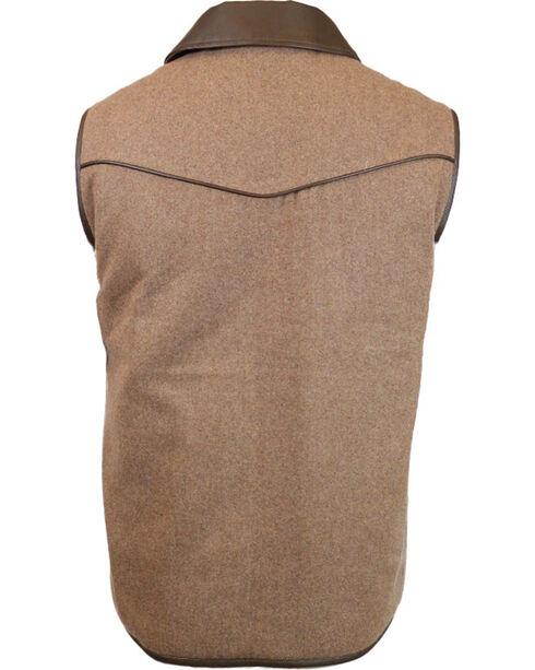 Cody James Men's Rifleman Insulated Wool Vest - Big, Oatmeal, hi-res