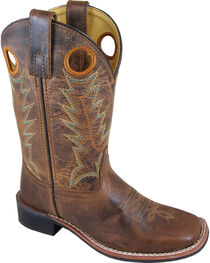 Smoky Mountain Boys' Jesse Western Boots - Square Toe , , hi-res