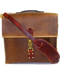 SouthLife Supply Aged Bourbon Messenger Bag, , hi-res