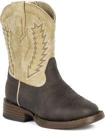 Roper Toddler Boys' Billy Cowboy Boots - Square Toe, , hi-res