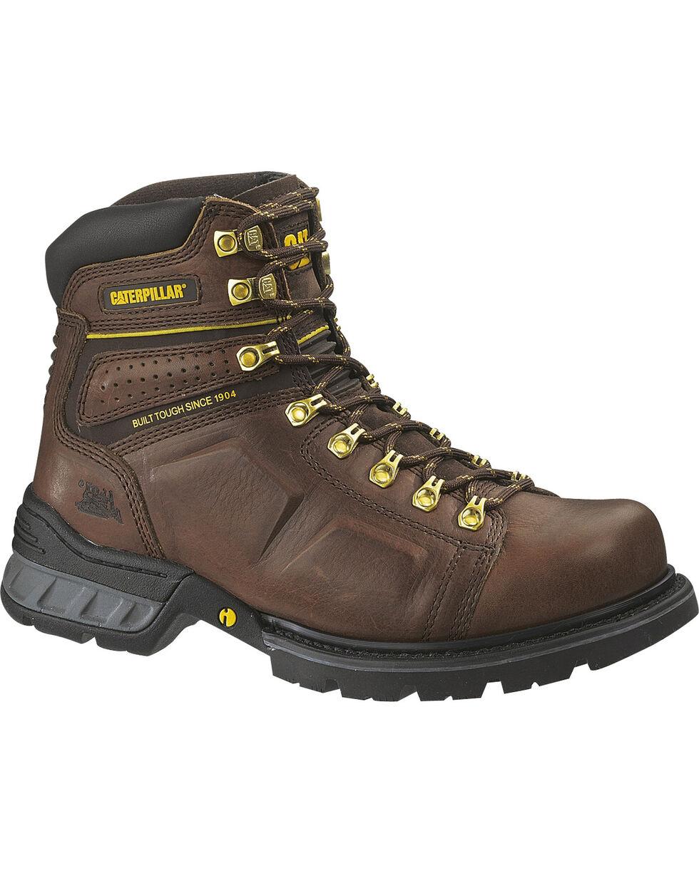 CAT Men's Endure Work Boots, Oak, hi-res