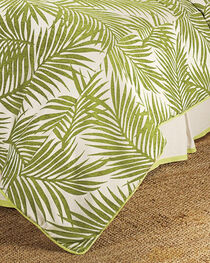 HiEnd Accents Super Queen Capri Fern Duvet Cover, , hi-res